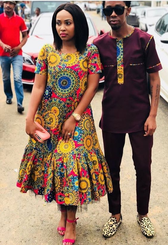 Top Traditional African Print Dresses Designs 2019 1