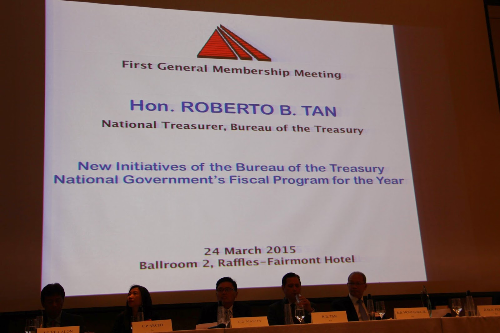 FIrst general assembly meeting of MART