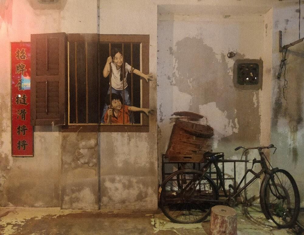 ernest-zacharevic+penang+street+art+malaysia