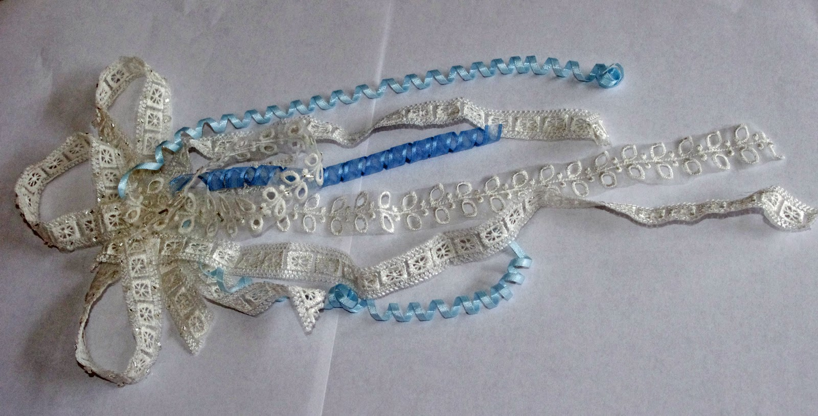 SquigglyTwigs Designs Tuesdays Tute Lace ribbon and a