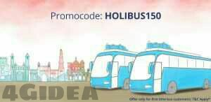Paytm Bus Booking Offer HOLIBUS150 – Get 40% Cashback on Tickets of Rs 200 or more (New Users)