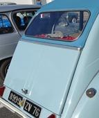 Citroën 1957 2 CV porte de malle