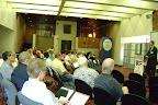 Much audience interest in Eric Scheidler's presention.