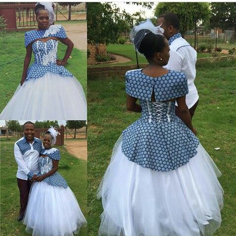 Latest Traditional Dresses 2018 South African 1