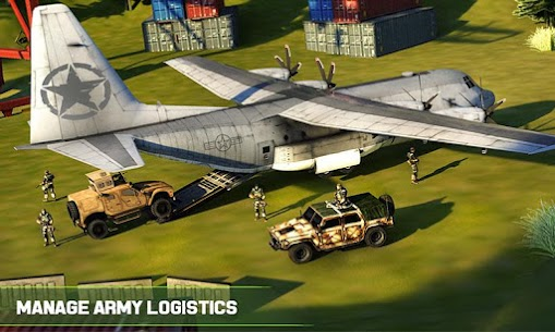 US Army Cargo Truck Transport Military Bus Driver 4