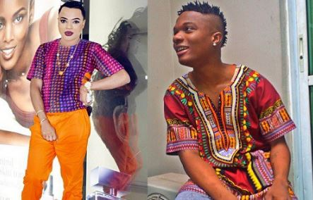 WONDERFUL! Checkout Wizkid's Epic Reply To Bobrisky (Photos)