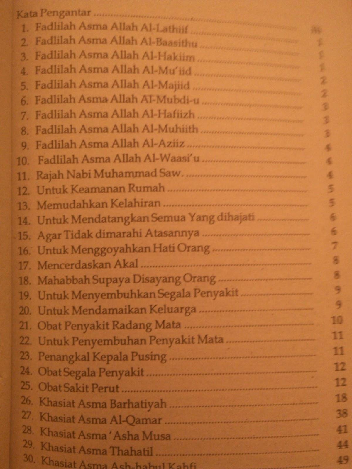 terjemahan kitab syamsul maarif al kubro