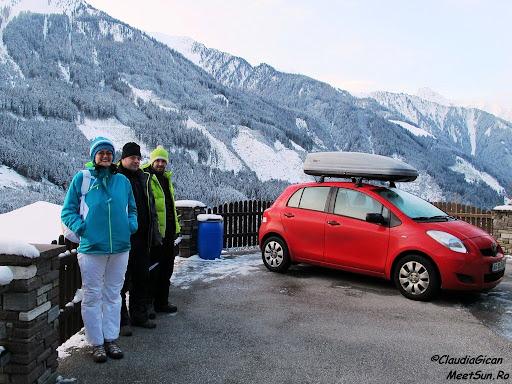 Schi in Austria.
