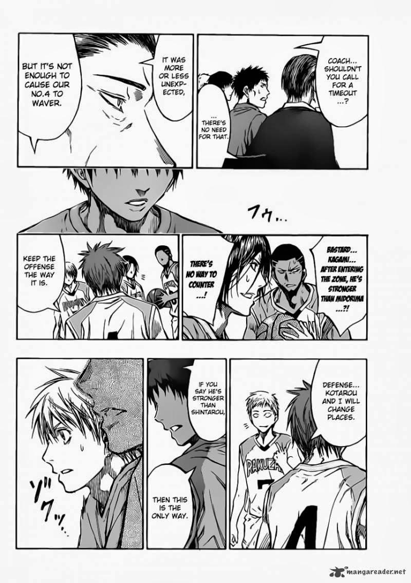 Kuroko no Basket Manga Chapter 233 - Image 10