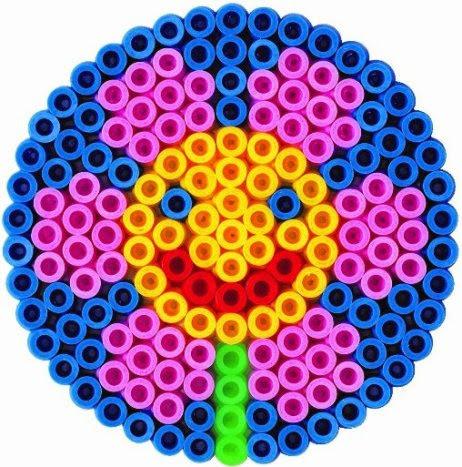 Bộ xếp hình Hama 8914 Maxi hình Mặt Trời - Souvenirs Sun giúp trẻ thỏa sức chơi vui và sáng tạo