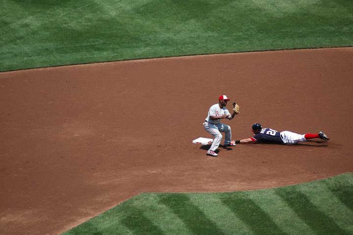 Ankiel steals second