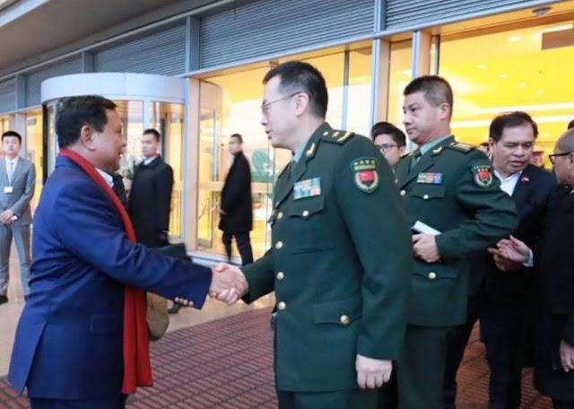 Viral Menhan Prabowo Ditekan Beli Pesawat Tempur Made in China