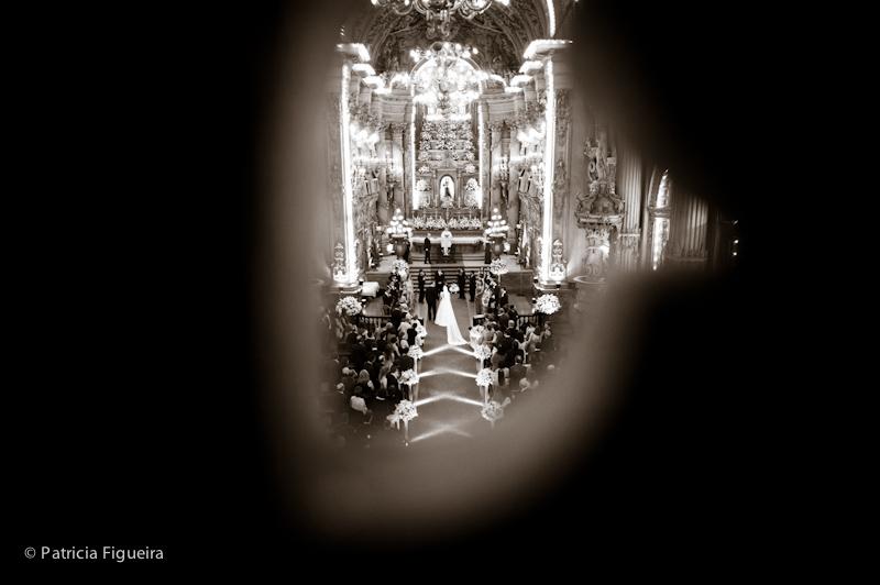 Foto de casamento 0805pb de Ana e Joao. Marcações: 29/10/2011, Casamento Ana e Joao, Igreja, Igreja Sao Francisco de Paula, Rio de Janeiro.
