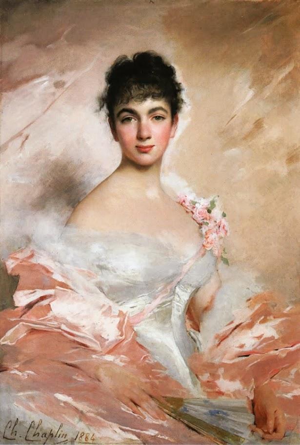 Charles Joshua Chaplin - Woman in Pink