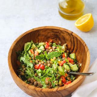 Mint Lentil Salad Recipe