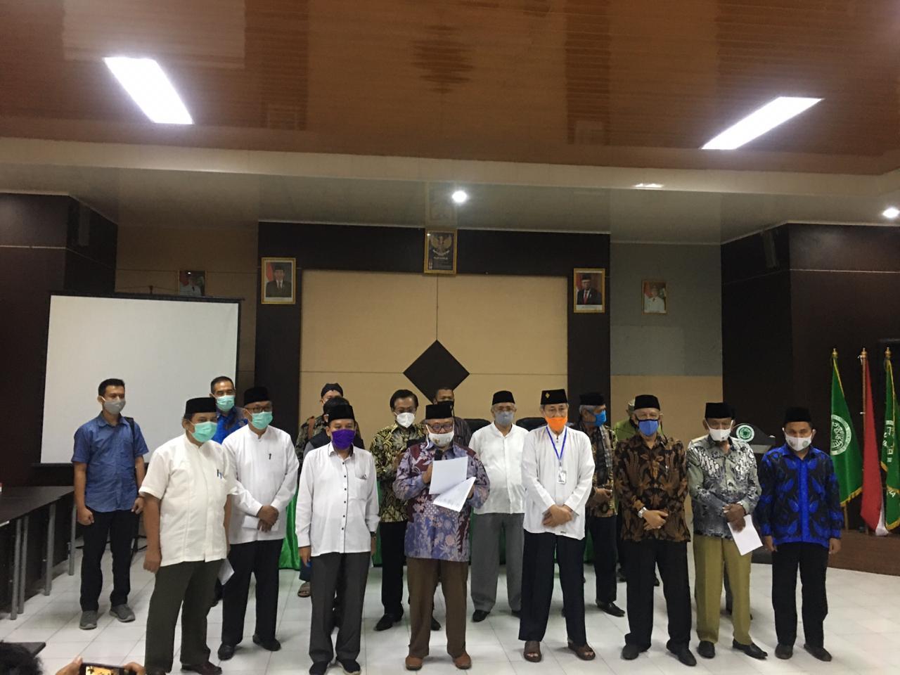 Ormas Islam Dan Majelis Agama Se Provinsi Banten, Menolak Aksi-aksi Demo Anarkis