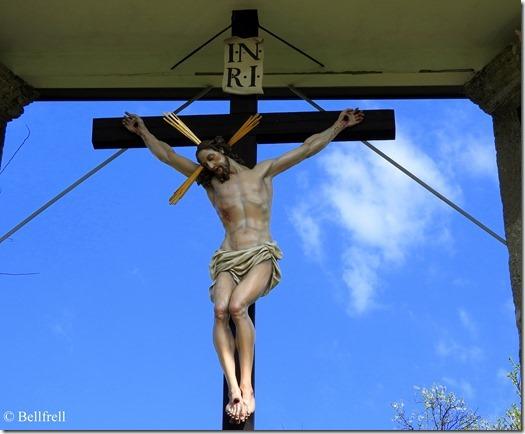 Jesus am Kreuz Maria Plain