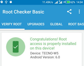 How to root tecno W5 running android 6 0 marshmallow and
