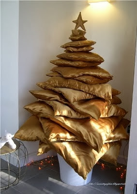 pillows Christmas trees