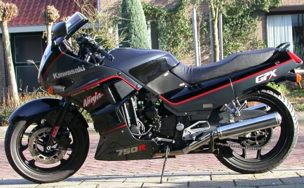 Kawasaki GPX 750 R ninja -manual-taller-despiece-mecanica