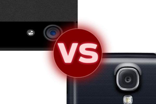 Galaxy S4 vs iPhone camera