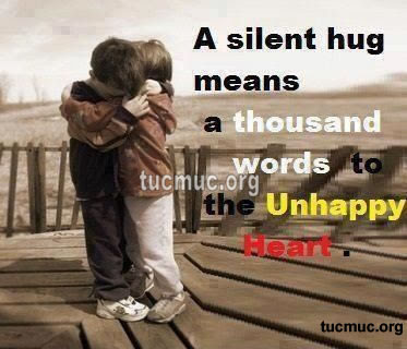 Hug Means a Thousand Words Comments