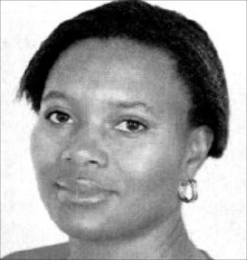 CHARGED: Phuti Mabelebele. 16/03/07.  Phuti Mabelebele, senior manager communications. © Unknown.