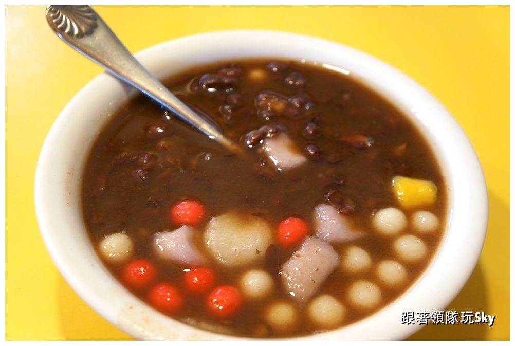 三重美食推薦-大同市場 傳統美味紅豆.花生湯【O仔湯】