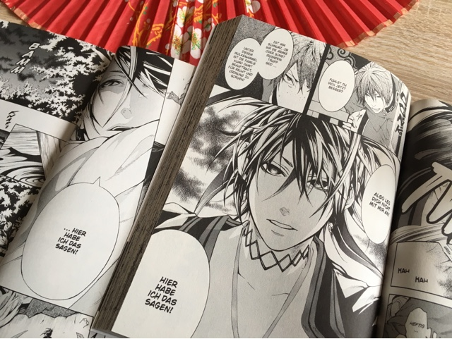 Rezension/Review zum Manga Unterm Wolkenhimmel
