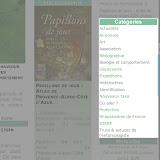 13. La liste des rubriques (ou catégories) se trouve également dans la colonne de droite : il suffira de cliquer sur le nom d'une rubrique pour découvrir les articles qu'elle présente.