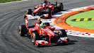 Massa in front of Alonso, Ferrari F138