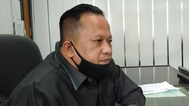 Foto: Boby Rustam. Soal Tunggakan Retribusi SPR Plaza Padang, Ini Kata Boby Rustam.
