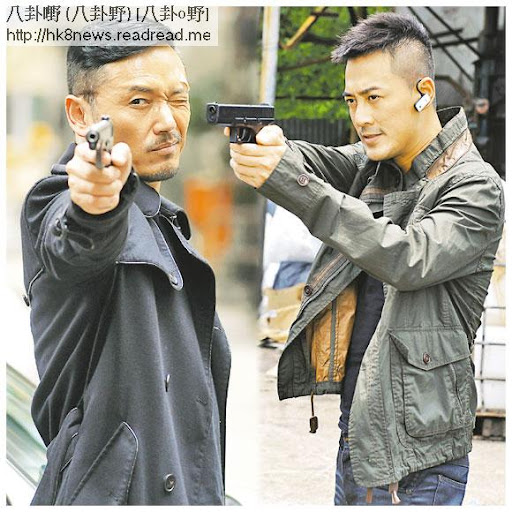 向榮(苗僑偉飾)(左)與世樂(林峯飾)(右)並肩作戰屢破奇案,但追查黑警時,兩人卻正面衝突。