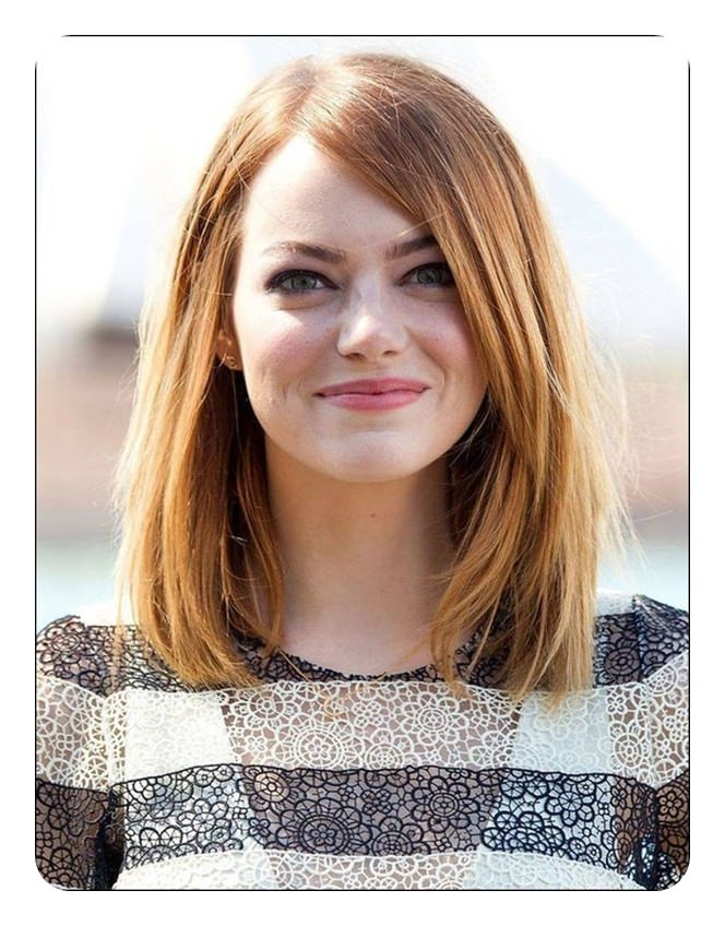 63 Flattering Haircuts Perfect For The Oval Face Fashionre