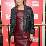 WWW.ENTSIMAGES.COM -   Sian Williams  arriving  at     Great Britain - press night at Theatre Royal Haymarket, London September 26th 2014West End Opening at Theatre Royal Haymarket for Richard Bean's GREAT BRITAIN -  Play about an ambitious tabloid editor in production described as anarchic satire about the press, the police and the political establishment.                                                    Photo Mobis Photos/OIC 0203 174 1069