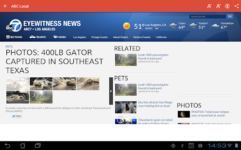 Los Angeles Local News- screenshot thumbnail