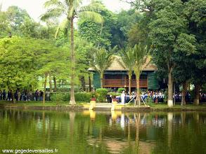 Photo: #015-La maison sur pilotis d'Hô Chi Minh