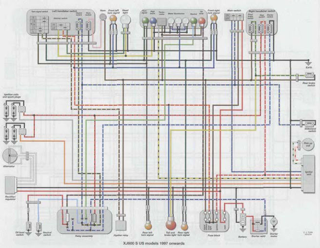 on yamaha ydra wiring diagram
