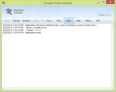 Cara backup driver yang sudah terinstal