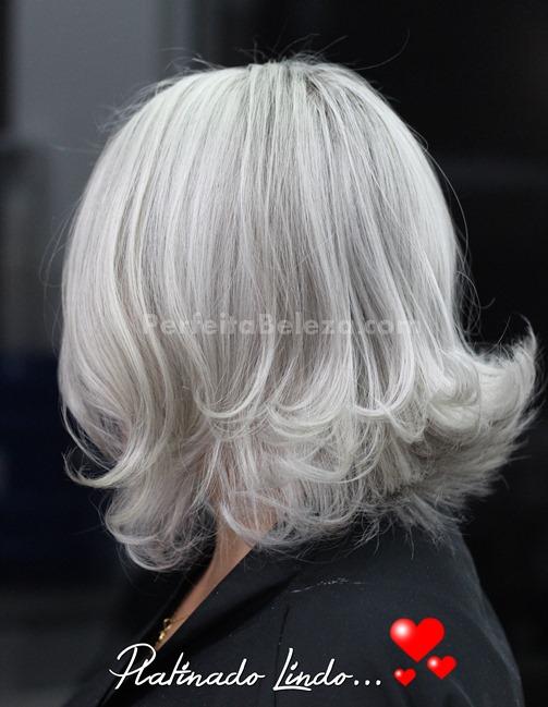 passo a passo de cabelo loiro platinado