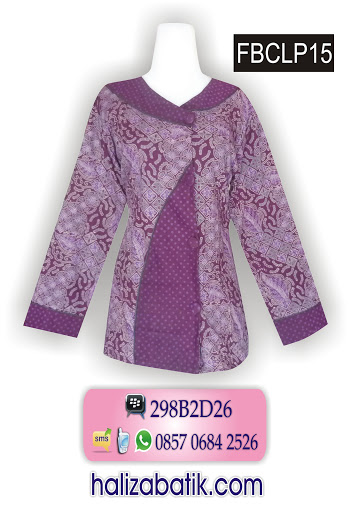 model baju batik atasan 204be77d2d