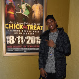 OIC - ENTSIMAGES.COM - Young Artz - Designer at the  Mandem on the Wall: Wall of Comedy - premiere in London 17th November 2015 Photo Mobis Photos/OIC 0203 174 1069