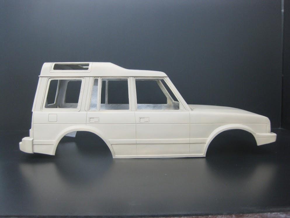 Cmf Item 2 Land Rover Discovery 1 Hard Frp Body Set