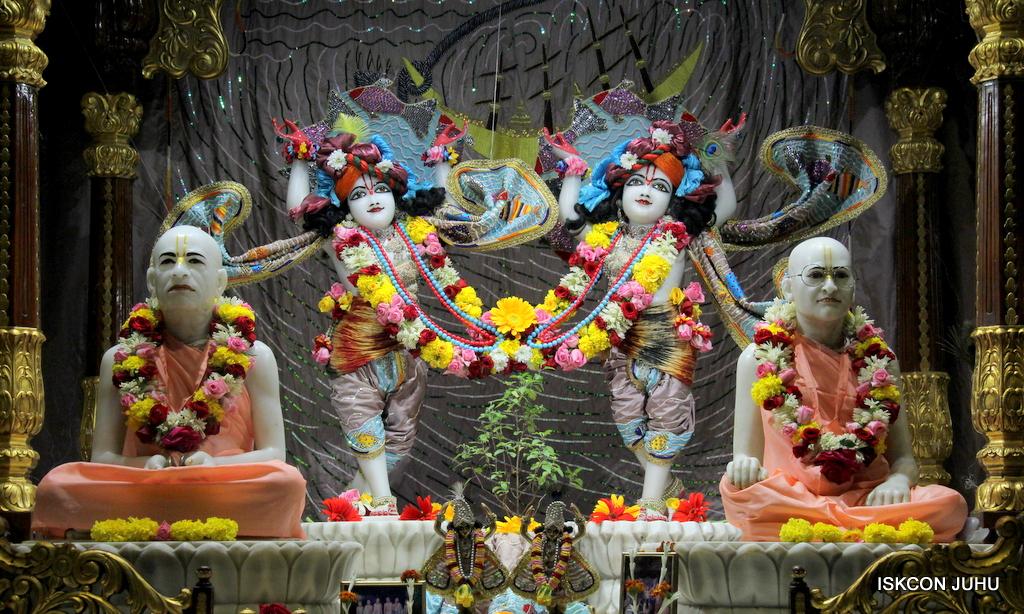 ISKCON Juhu Sringar Deity Darshan on 19th Oct 2016 (25)