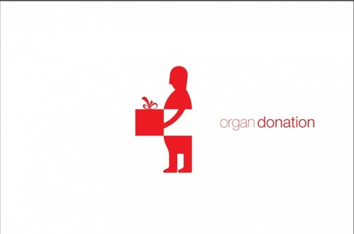 Creative Organ Donation Logo
