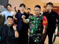 Menjaga Keterlibatan Remaja Terhadap Obat Terlarang, Babinsa Koramil 08 Kecamatan Makassar Laksanakan Komsos
