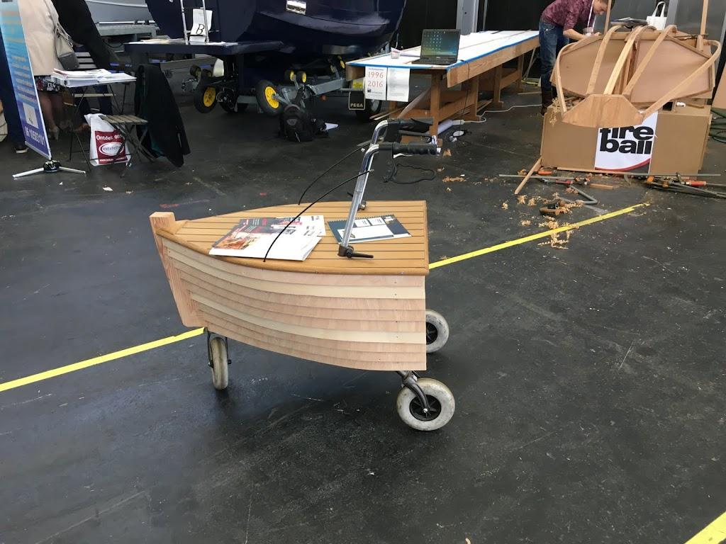 Een rollator voor oude schippers