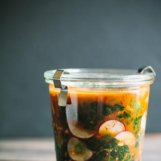 Kale Radish Kimchi