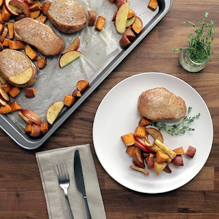 Pork Chops with Sweet Potatoes Recipe