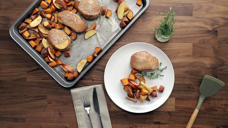 Pork Chops with Sweet Potatoes